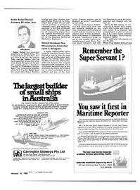 Maritime Reporter Magazine, page 17,  Jan 15, 1981 Felix van der Schaar