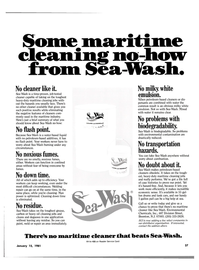 Maritime Reporter Magazine, page 25,  Jan 15, 1981 transportation hazards