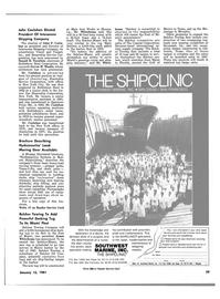 Maritime Reporter Magazine, page 27,  Jan 15, 1981 Florida