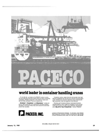 Maritime Reporter Magazine, page 59,  Jan 15, 1981 PACECO INTERNATIONAL LIMITED