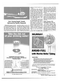 Maritime Reporter Magazine, page 6,  Jan 15, 1981 Illinois