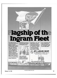 Maritime Reporter Magazine, page 21,  Feb 15, 1981 HP