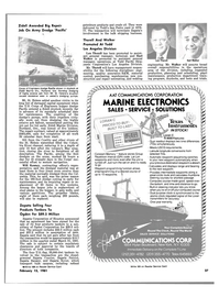 Maritime Reporter Magazine, page 25,  Feb 15, 1981 Thorell Promoted At Todd