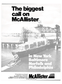 Maritime Reporter Magazine, page 1,  Feb 15, 1981 McAllister Brothers Inc.