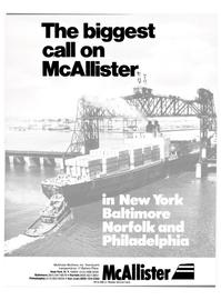 Maritime Reporter Magazine, page 1,  Feb 15, 1981