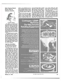 Maritime Reporter Magazine, page 35,  Feb 15, 1981 Robert Nystrom Named Division