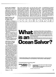 Maritime Reporter Magazine, page 37,  Feb 15, 1981 New Jersey
