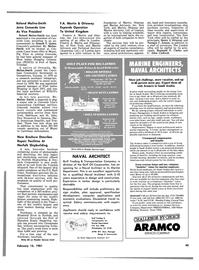 Maritime Reporter Magazine, page 43,  Feb 15, 1981 Florida