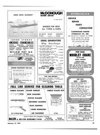 Maritime Reporter Magazine, page 47,  Feb 15, 1981