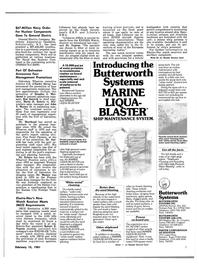 Maritime Reporter Magazine, page 5,  Feb 15, 1981 Texas