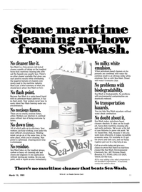 Maritime Reporter Magazine, page 9,  Mar 15, 1981