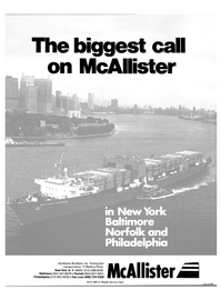 Maritime Reporter Magazine, page 1,  Mar 15, 1981 McAllister Brothers Inc.