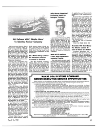 Maritime Reporter Magazine, page 47,  Mar 15, 1981 Pennsylvania