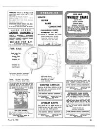 Maritime Reporter Magazine, page 51,  Mar 15, 1981 Alabama