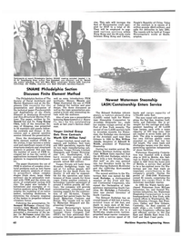 Maritime Reporter Magazine, page 58,  Mar 15, 1981