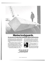 Maritime Reporter Magazine, page 3rd Cover,  Mar 15, 1981 manufacturing facility