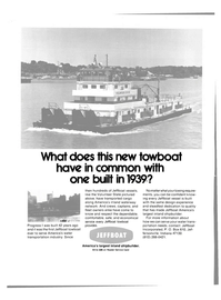 Maritime Reporter Magazine, page 4th Cover,  Mar 15, 1981 Jeffboat Incorporated