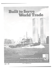 Maritime Reporter Magazine, page 9,  Apr 1981 World Trade Center