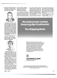 Maritime Reporter Magazine, page 17,  Apr 1981