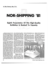 Maritime Reporter Magazine, page 18,  Apr 1981 R.A. Humphrey