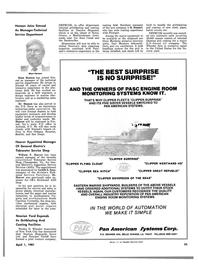 Maritime Reporter Magazine, page 23,  Apr 1981 North Carolina