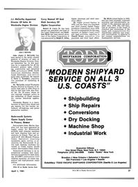 Maritime Reporter Magazine, page 25,  Apr 1981