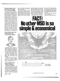 Maritime Reporter Magazine, page 27,  Apr 1981 California
