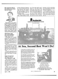 Maritime Reporter Magazine, page 31,  Apr 1981 Minnesota