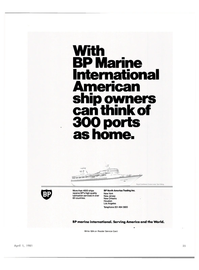 Maritime Reporter Magazine, page 33,  Apr 1981 BP North America Trading Inc.