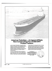 Maritime Reporter Magazine, page 41,  Apr 1981 marine industry