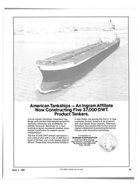 Maritime Reporter Magazine, page 41,  Apr 1981