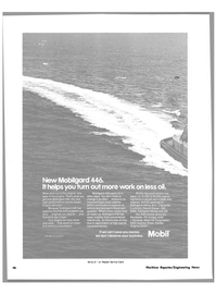 Maritime Reporter Magazine, page 44,  Apr 1981 less oil make-up