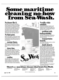 Maritime Reporter Magazine, page 11,  Apr 15, 1981