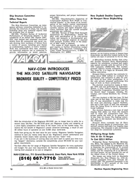 Maritime Reporter Magazine, page 14,  Apr 15, 1981 U.S. Navy