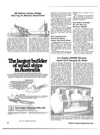 Maritime Reporter Magazine, page 16,  Apr 15, 1981 David Walton