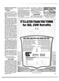 Maritime Reporter Magazine, page 31,  Apr 15, 1981