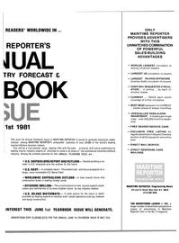 Maritime Reporter Magazine, page 37,  Apr 15, 1981