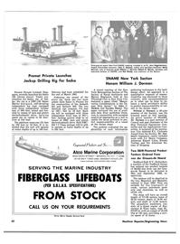 Maritime Reporter Magazine, page 50,  Apr 15, 1981 Garmia Daniel