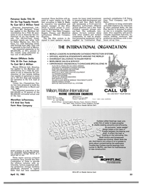 Maritime Reporter Magazine, page 51,  Apr 15, 1981 Connecticut