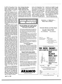 Maritime Reporter Magazine, page 53,  Apr 15, 1981