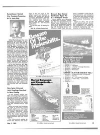 Maritime Reporter Magazine, page 15,  May 1981