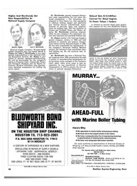 Maritime Reporter Magazine, page 24,  May 1981