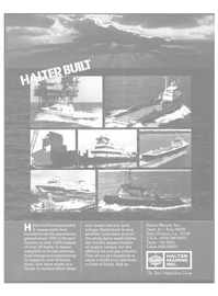 Maritime Reporter Magazine, page 3rd Cover,  May 1981