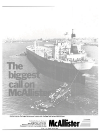 Maritime Reporter Magazine, page 1,  May 15, 1981 New York Harbor