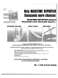 Maritime Reporter Magazine, page 34,  May 15, 1981 DRILL RIG BUILDING