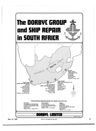 Maritime Reporter Magazine, page 39,  May 15, 1981 Table Bay Harbour