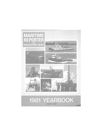 Maritime Reporter Magazine, page 1,  Jun 1981