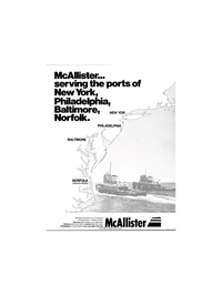 Maritime Reporter Magazine, page 3,  Jun 1981 McAllister Brothers Inc.