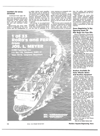 Maritime Reporter Magazine, page 12,  Jun 15, 1981