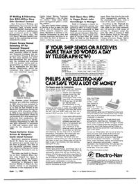 Maritime Reporter Magazine, page 13,  Jun 15, 1981